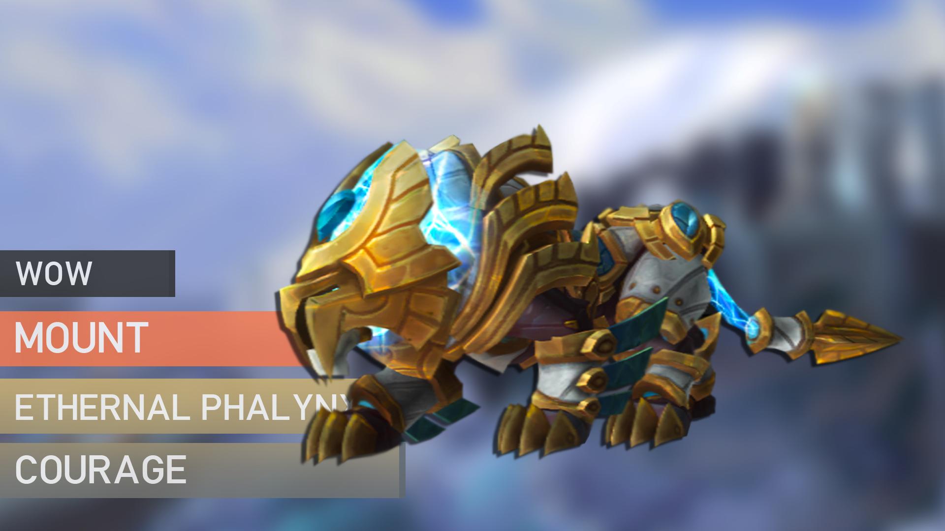 Eternal Phalynx of Courage Mount GBD - e2p.com