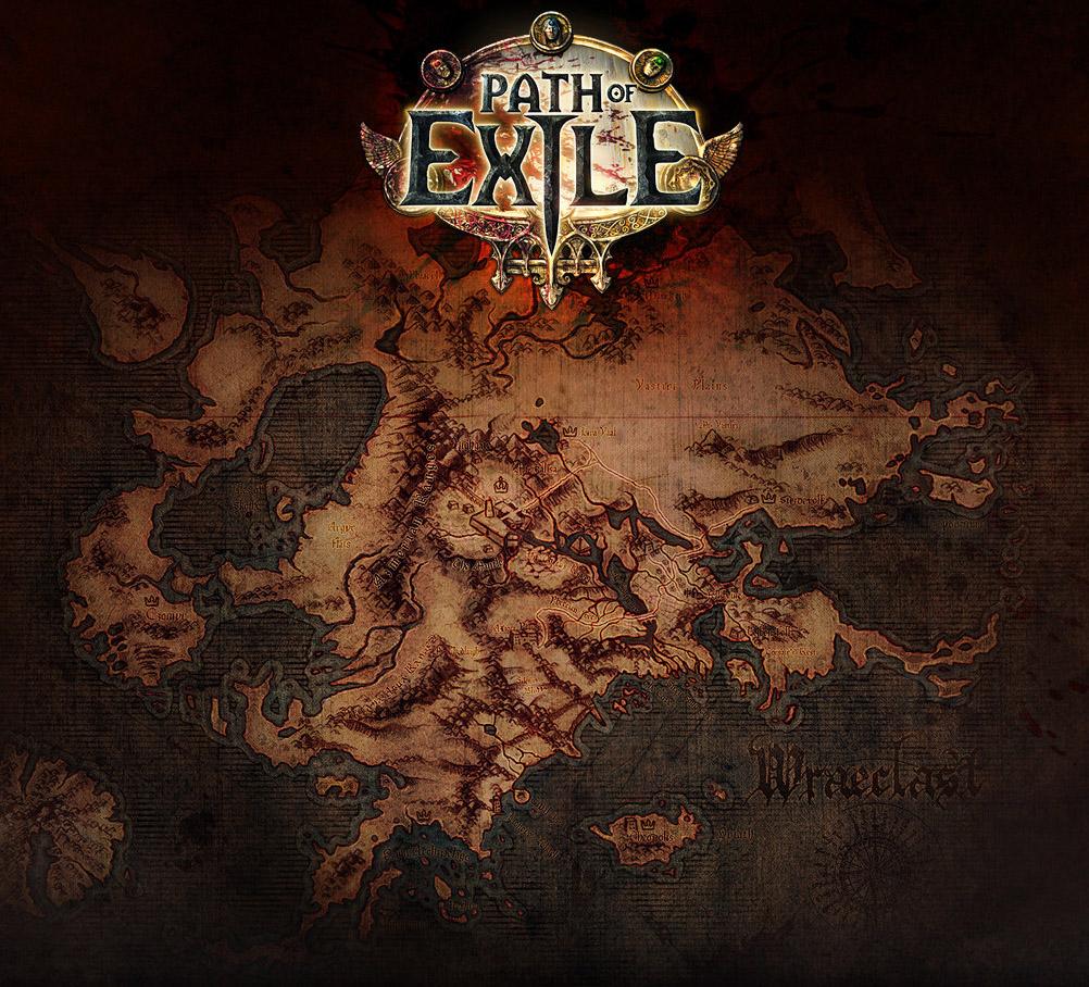 10 Path of Exile Random White Maps - Lira Arthain Atlas Area GBD - e2p.com