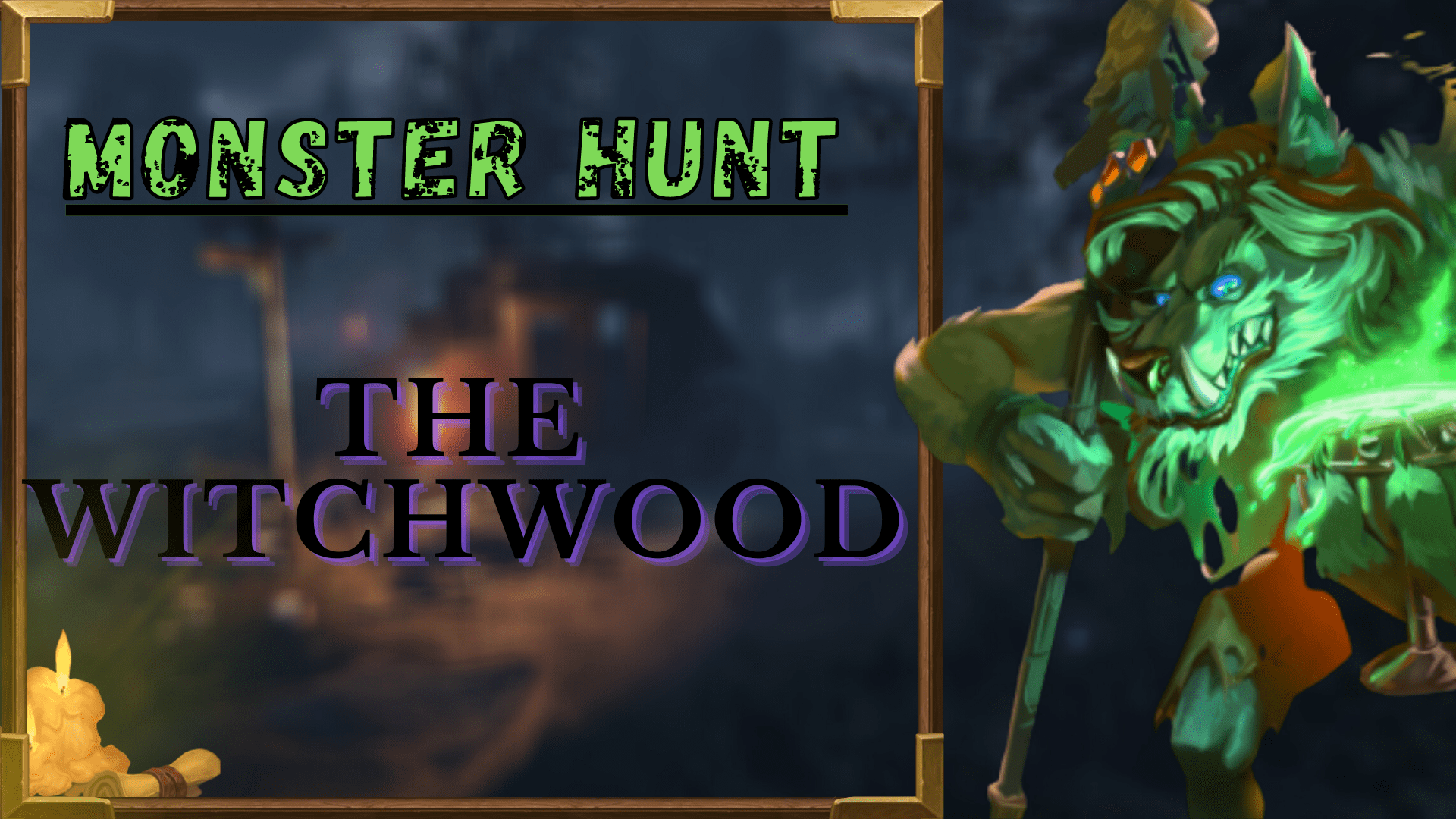 Monster hunt: The WitchWooD GBD - e2p.com