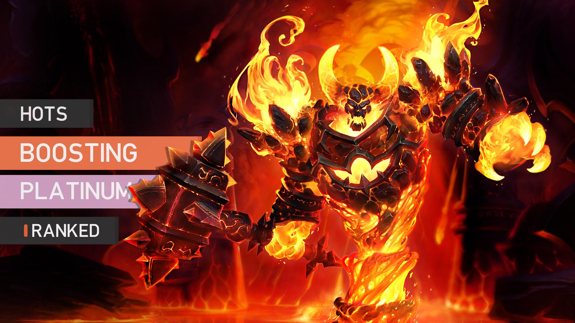 Heroes of the Storm: Rank boosting - Platinum GBD - e2p.com