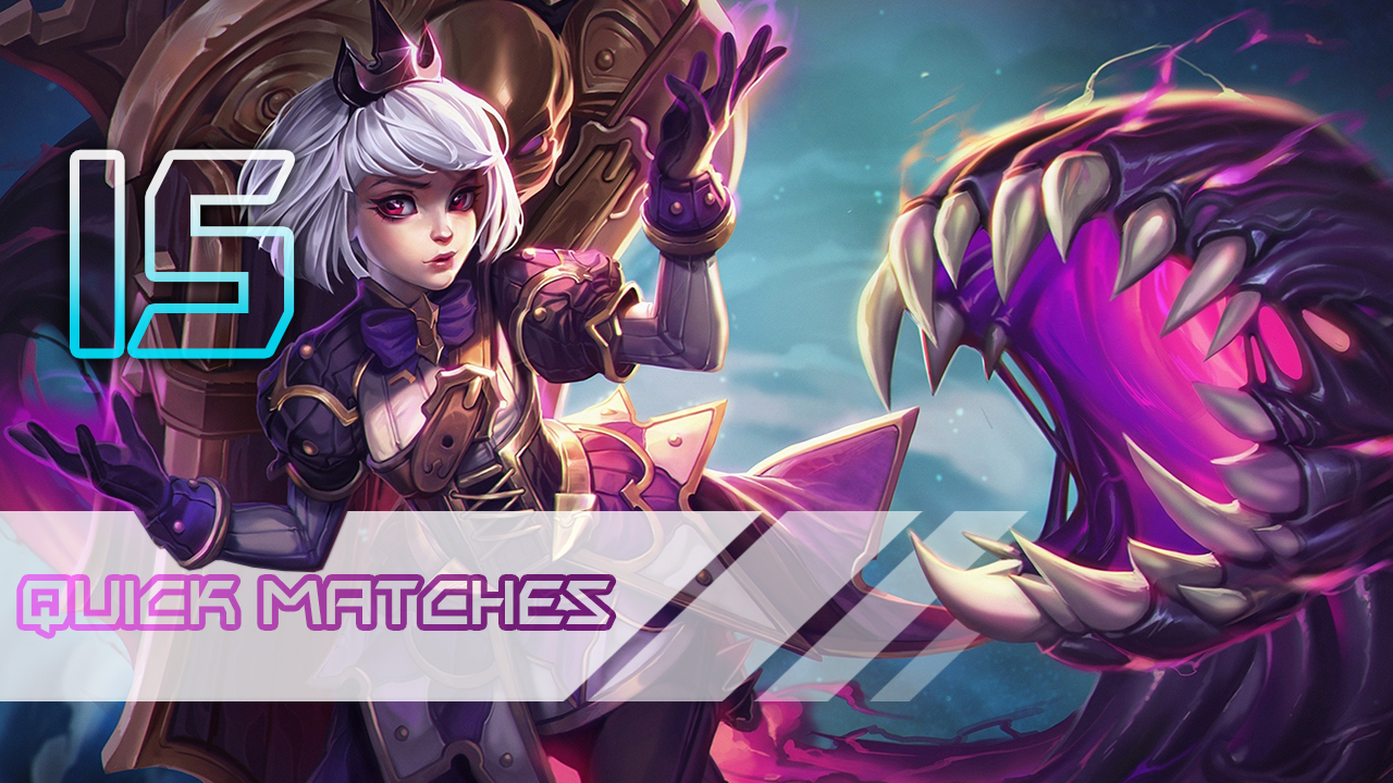 Heroes of the Storm: Quick Matches 15 games
