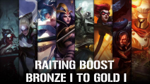 Ranked Bronze to Gold