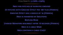 Acton's Nightmare Overgrown Shrine Map